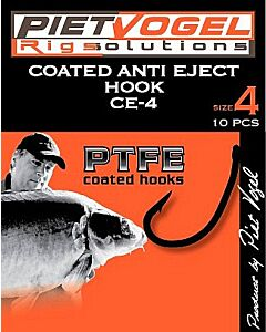 Piet Vogel Coated Anti Eject Hook CE4 Size 8