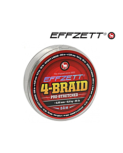 DAM Effzett 4-Braid 0.10mm 250mtr