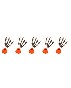 5 VERPAKKINGEN | MAD Heli Chod System (5x 4pcs)
