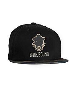 Prologic Bank Bound Flat Bill Cap Black/Camou