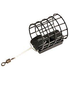 Trabucco Airtek Black Wire Cage Feeder | 1pcs