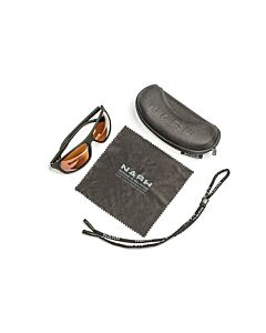 Nash Amber Wraps Polaroid Sunglasses