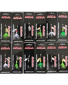 Arca Spinner Pakket - 12 SPINNERS!