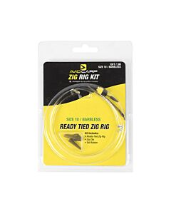 Avid Zig Rig Kit 2.4mtr Size 10 Barbless