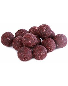 Budget Baits Ready Made Boilies 10kg - Garlic Robin Red 20mm