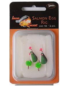 Iron Trout Salmon Egg Rig Size 6