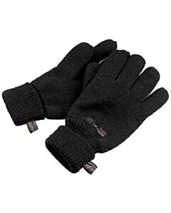 Eiger Knitted Glove - Black/3M Thinsulate