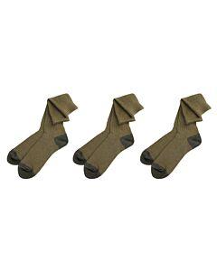 3 HALEN 1 BETALEN - Eiger Basic Sock Green