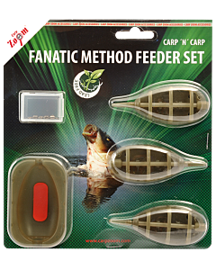 Carpzoom Fanatic Method Feeder Set