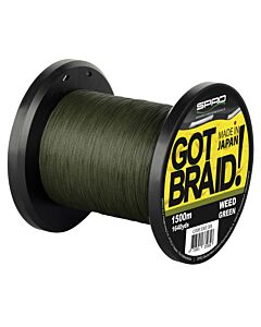 Spro GOT Braid! Green 0.18mm 1500mtr