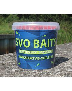 SVO Boilie Range 15mm 700gr Raspberry Fish
