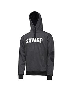 Savage Gear Logo Hoodie Dark Grey
