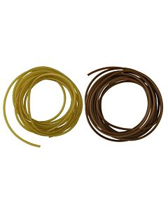 MAD Anti Tangle Rig Tubing 2mtr Green / Brown (in diverse diameters)