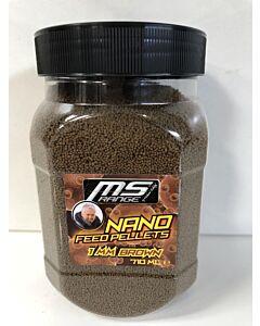 MS Range Nanofeed Pellets 1mm 710ml   Black of Brown