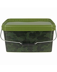 NGT Camo Square Bucket 12.5L
