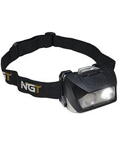 NGT Dynamic Cree Light Hoofdlamp 200 Lumens (incl. usb-kabel)