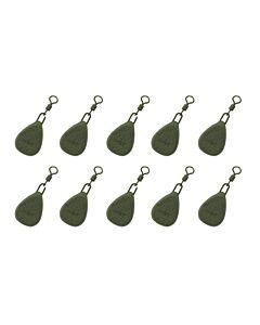 NGT Lood Flat Pear 113gr (10 stuks per verpakking)
