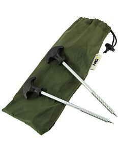 NGT Bivvy Pegs (10pcs in case)