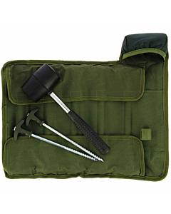 NGT Bivvy Peg Set (10 pegs + mallet)