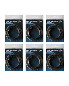 6 VERPAKKINGEN | Nash No Spook Rig Tube | 1.0mm 3mtr