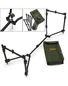 NGT Dynamic Pod 3 Rod Compact Pod Incl Buzz Bars & Case