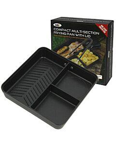 NGT Compact 3-Vaks Pan met deksel & afneembaar handvat