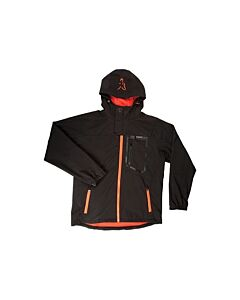 Fox Softshell Jacket Black / Orange