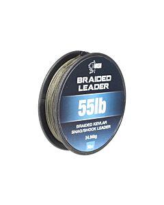 Nash Braided Leader 55lbs 50mtr