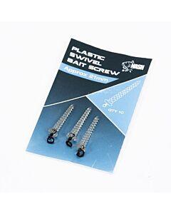 Nash Plastic Swivel Bait Screw 21mm