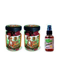 Tigernut DEAL | 2x Radical Tiger's Nuts Pop-Ups mix 16mm & 20mm + 1x Anaconda Bionic Crunch Sushi Tiger Attraction Spray 50ml