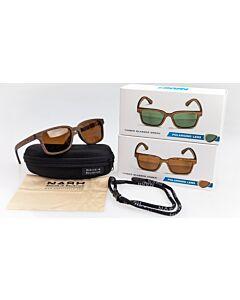 Nash Timber Polaroid Sunglasses | Green of Amber Lens