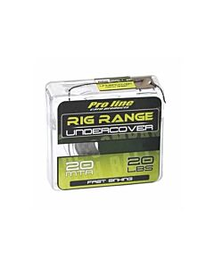 Proline Undercover Hooklink 20lb (Camo Brown of Camo Green)