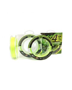 Trabucco X4 Power Braid Lime Yellow 300mtr | 0.148mm
