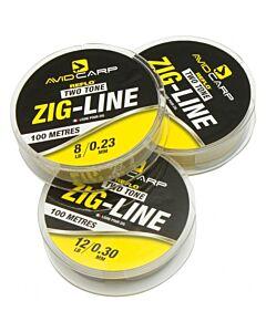 Avid Two Tone Zig Line 100mtr